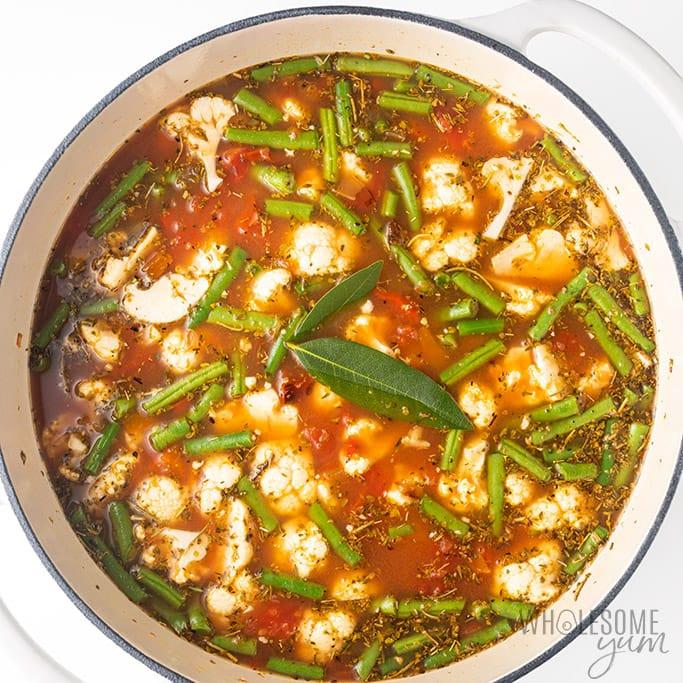 Low Carb Keto Soup Recipes  The Best Keto Low Carb Ve able Soup Recipe