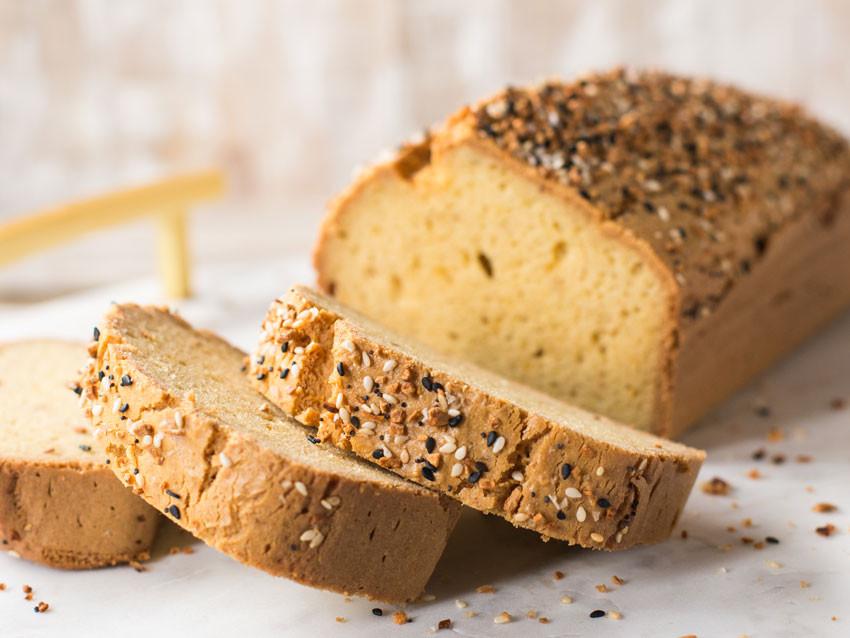 Low Fat Low Carb Bread  Low Carb Keto Bread GF DF