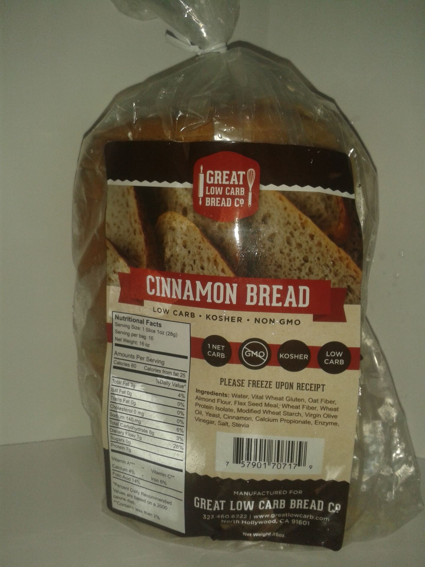 Low Fat Low Carb Bread  Low Fat Nutrition Low Carb Grocery Store