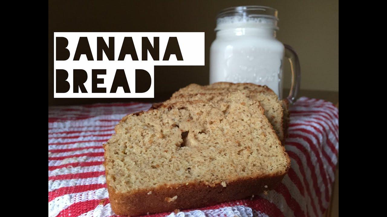 Low Fat Low Carb Bread  Healthy Banana Bread Recipe