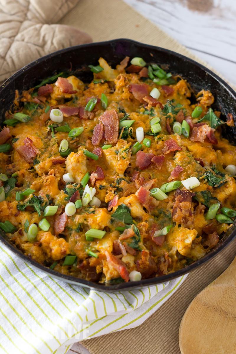 Mexican Keto Skillet  Mexican Chorizo Breakfast Skillet