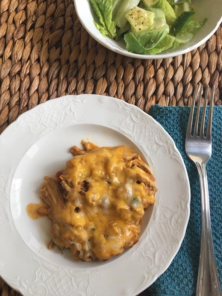 Mexican Keto Skillet  Keto Cheesy Mexican Skillet Chicken