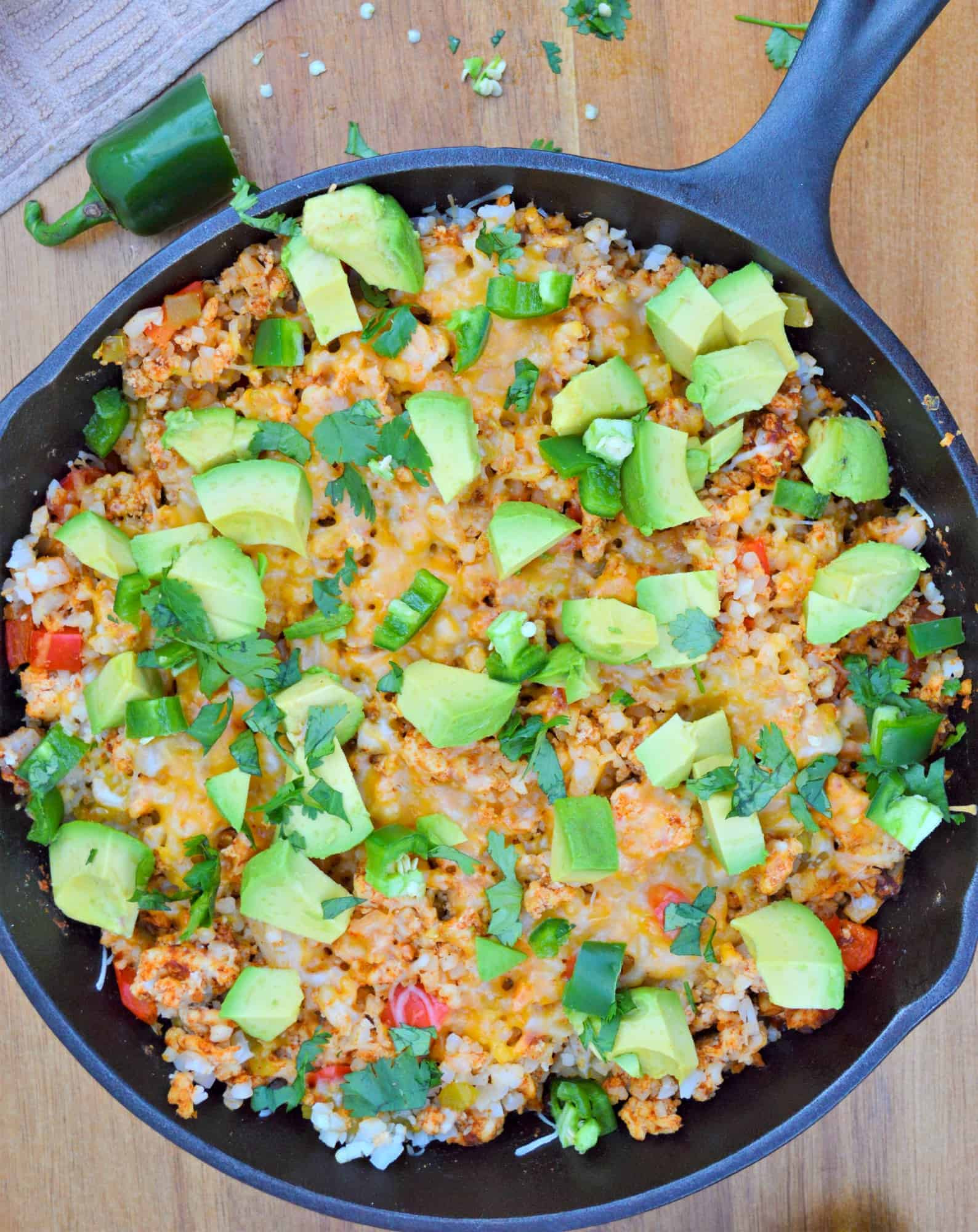 Mexican Keto Skillet  Keto Turkey Mexican Skillet Ready In Less Than 30 Minutes