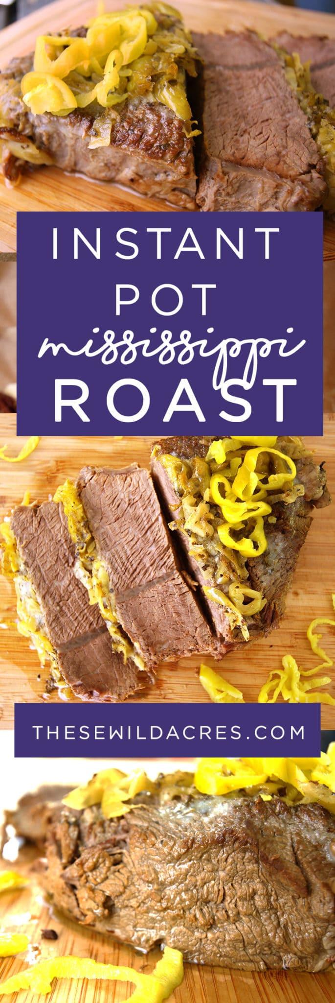 Mississippi Pot Roast Instant Pot Keto  Instant Pot Mississippi Pot Roast Recipe Keto Paleo