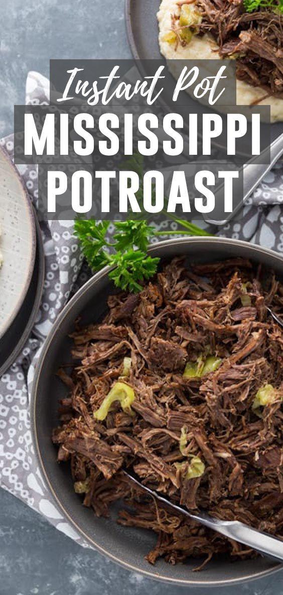 Mississippi Pot Roast Instant Pot Keto  Instant Pot Keto Mississippi Pot Roast