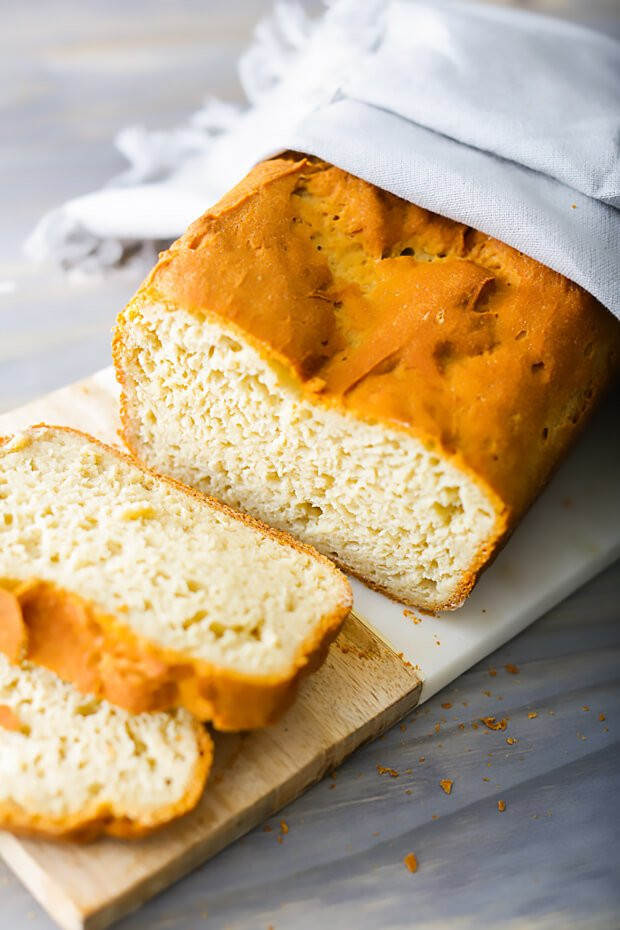 Moist Keto Sandwich Bread  Sliced Keto Sandwich Bread