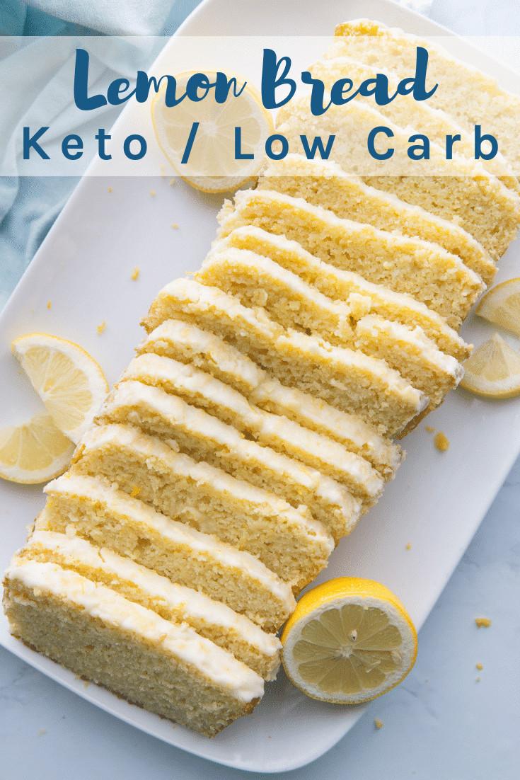 Moist Keto Sandwich Bread  Keto Lemon Bread Recipe Perfectly Moist & Delicious