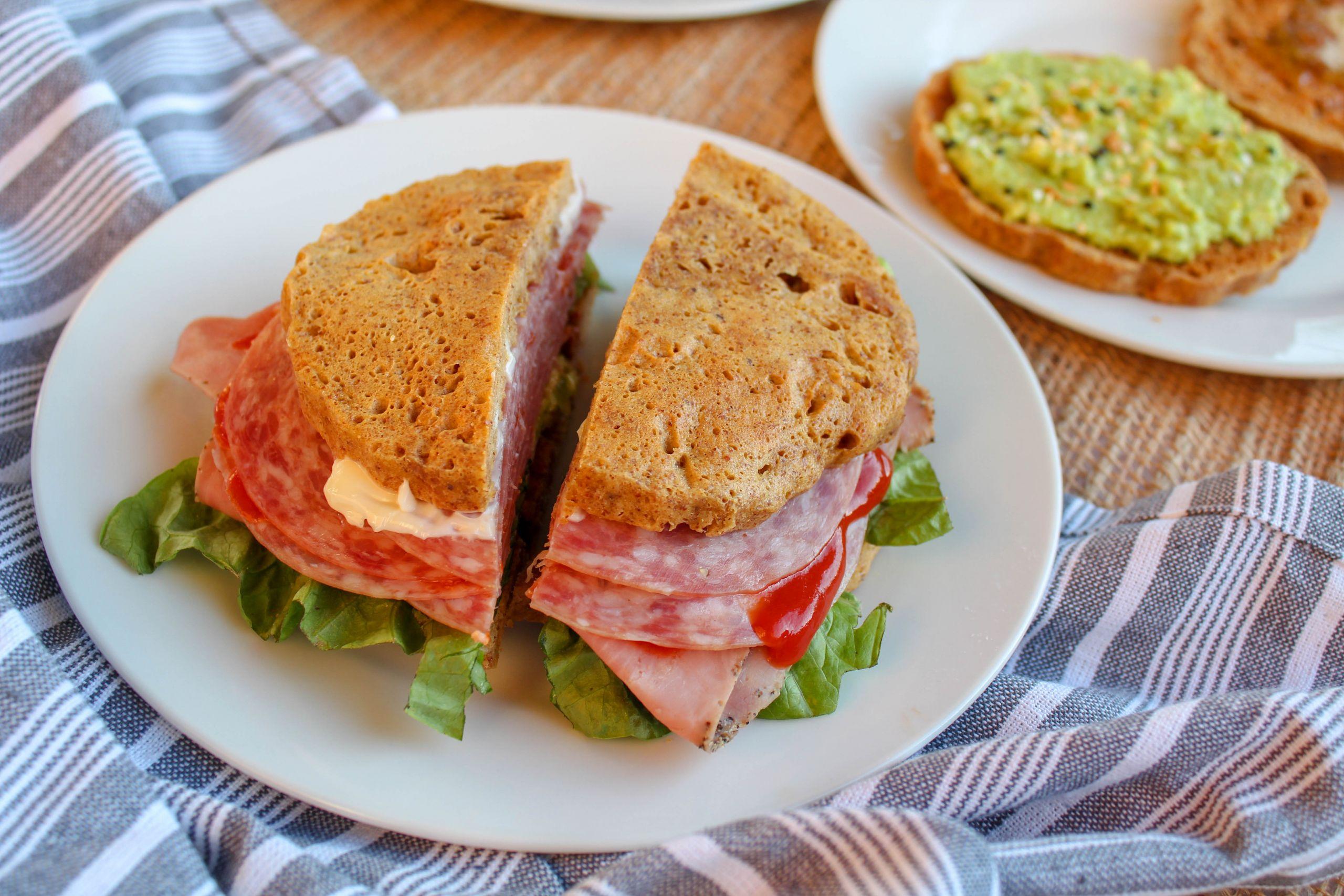 Moist Keto Sandwich Bread  Almond Butter Sandwich Bread