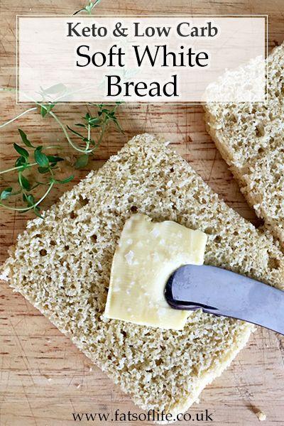 Moist Keto Sandwich Bread  Soft moist keto bread slices ing in at only 1 8g carbs