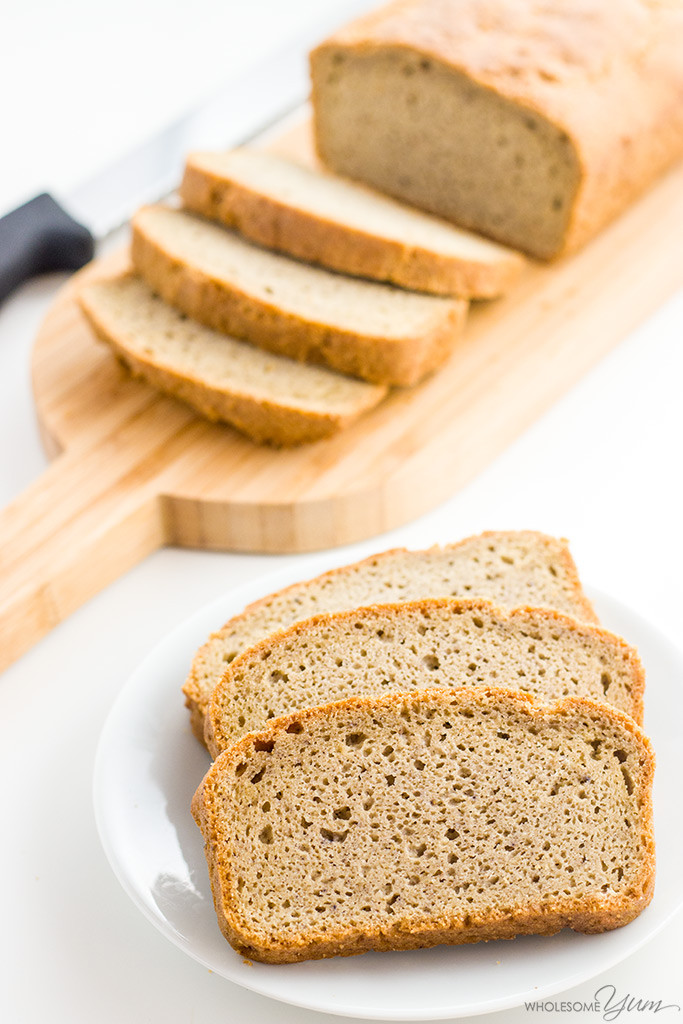 Paleo Low Carb Bread  Easy Low Carb Bread Recipe Almond Flour Bread Paleo