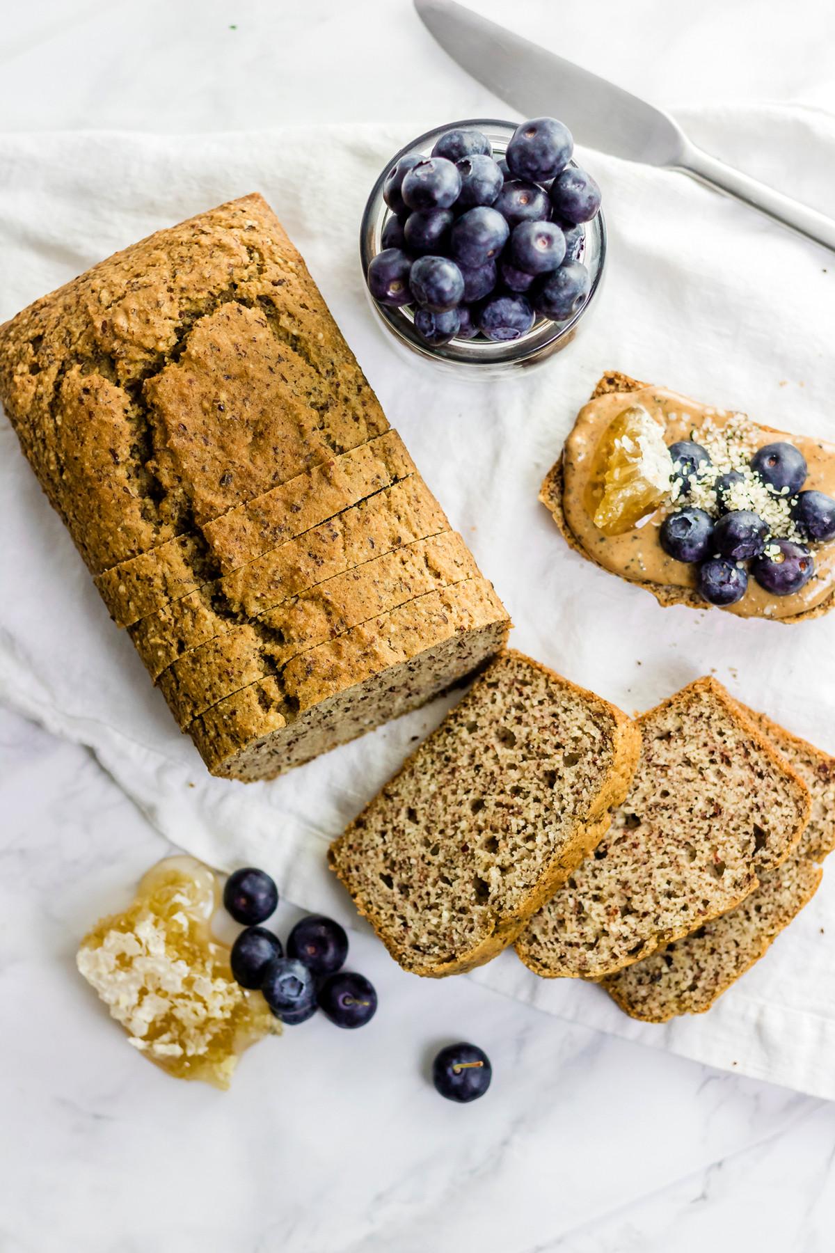 Paleo Low Carb Bread  The BEST Paleo Sandwich Bread gluten free grain free