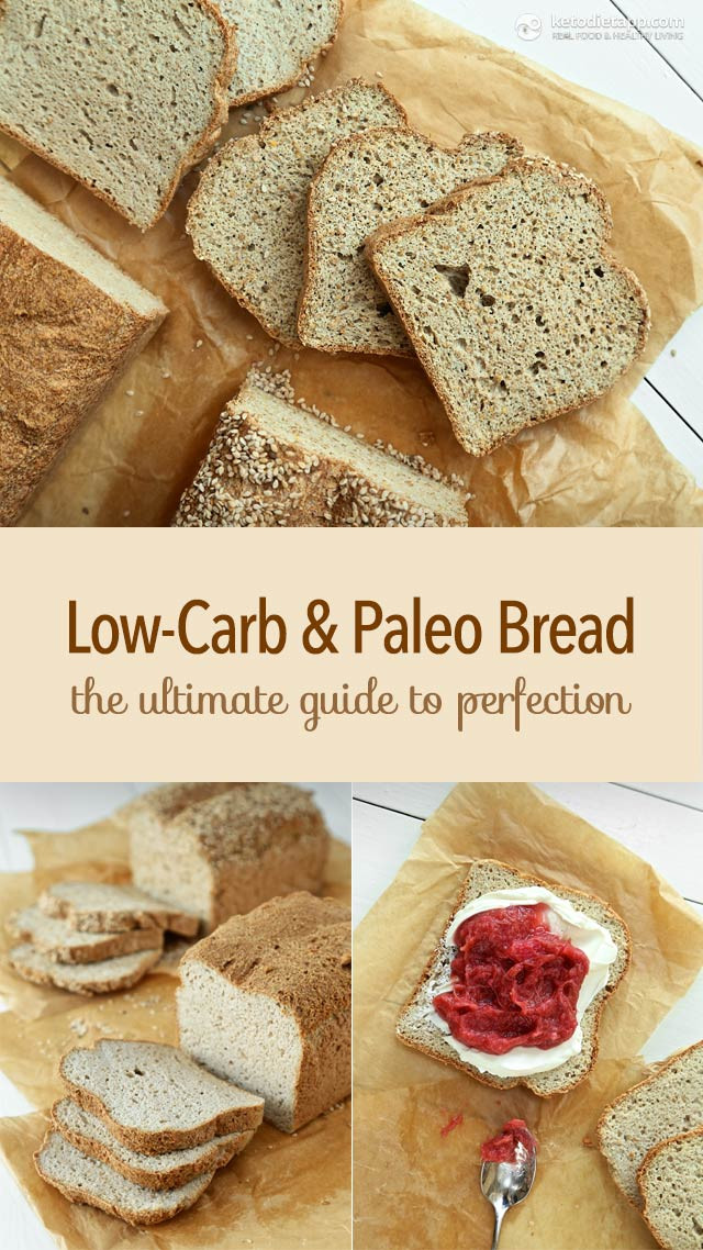 Paleo Low Carb Bread  Low Carb & Paleo Bread The Ultimate Guide