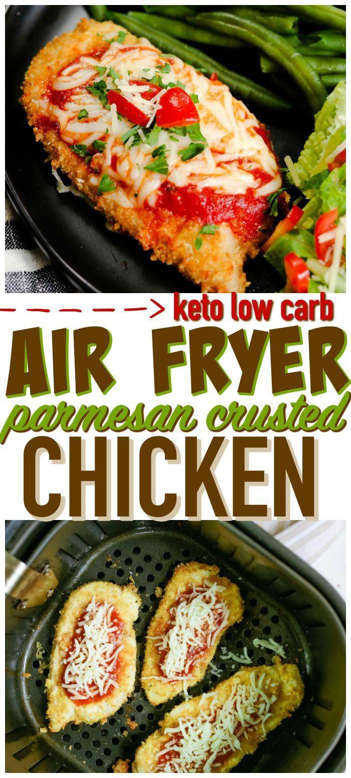 Parmesan Crusted Chicken Air Fryer Keto  Keto Parmesan Crusted Chicken If you are looking for the