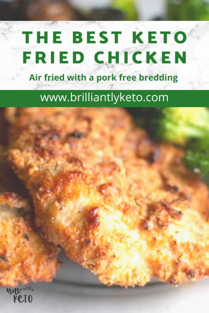 Parmesan Crusted Chicken Air Fryer Keto  Parmesan Crusted Chicken Easy Air Fryer Recipe