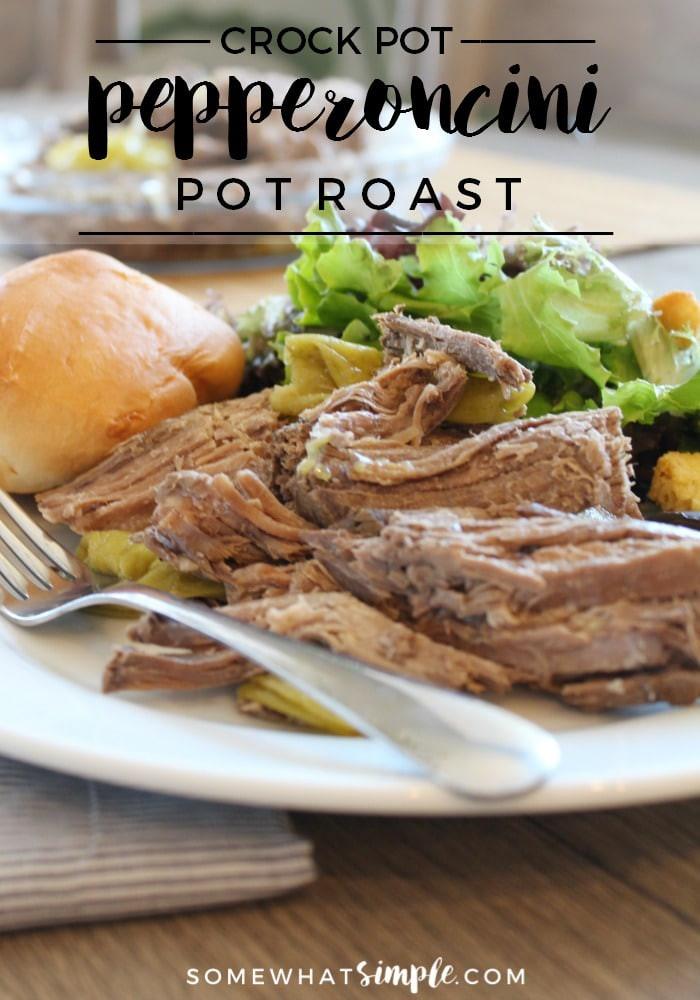 Pepperchini Roast Crock Pot Keto  Pepperoncini Pot Roast in the Crock Pot Somewhat Simple
