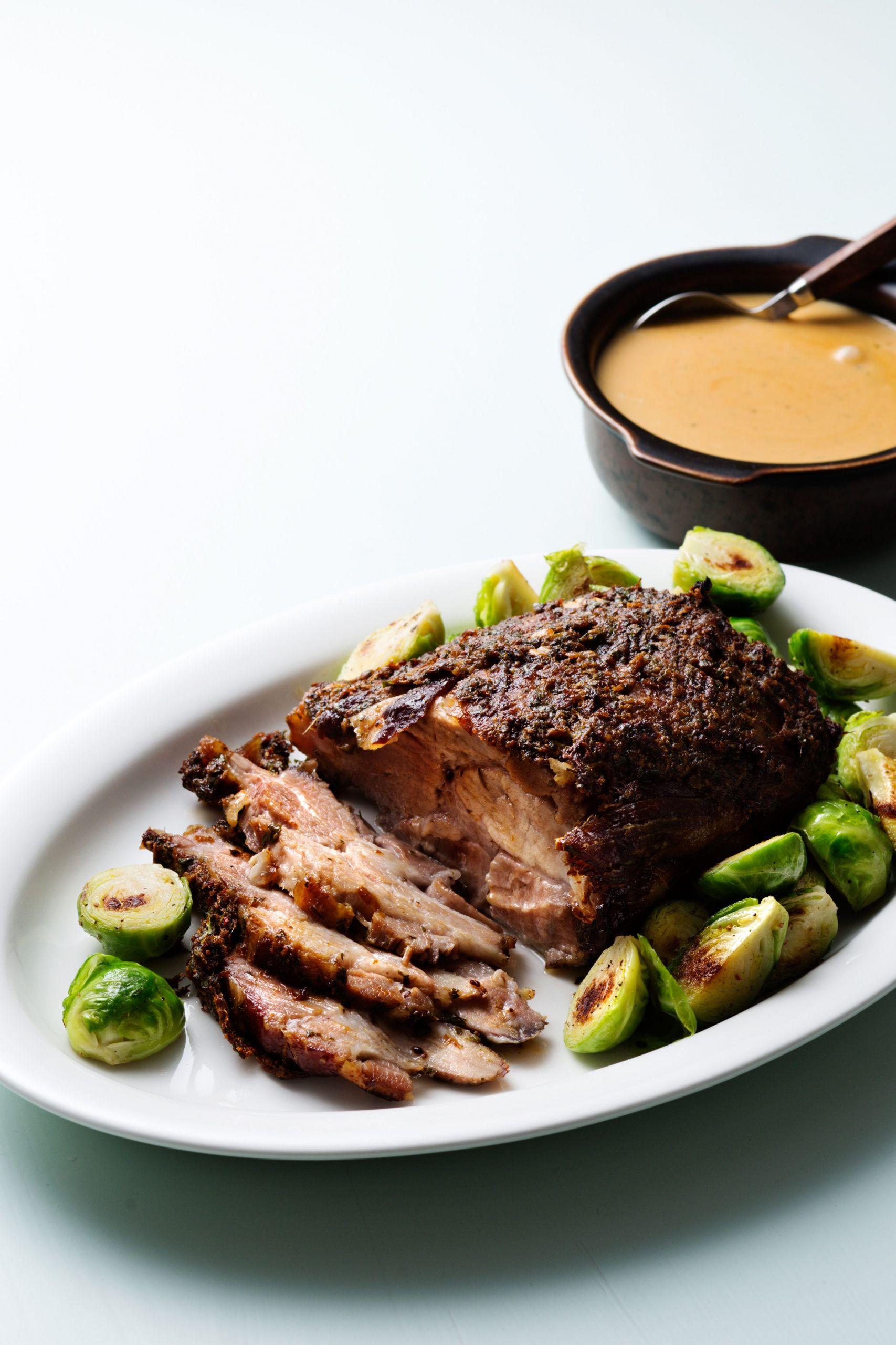 Pork Roast Crock Pot Recipes Slow Cooker Keto  Slow cooked keto pork roast with creamy gravy Diet Doctor
