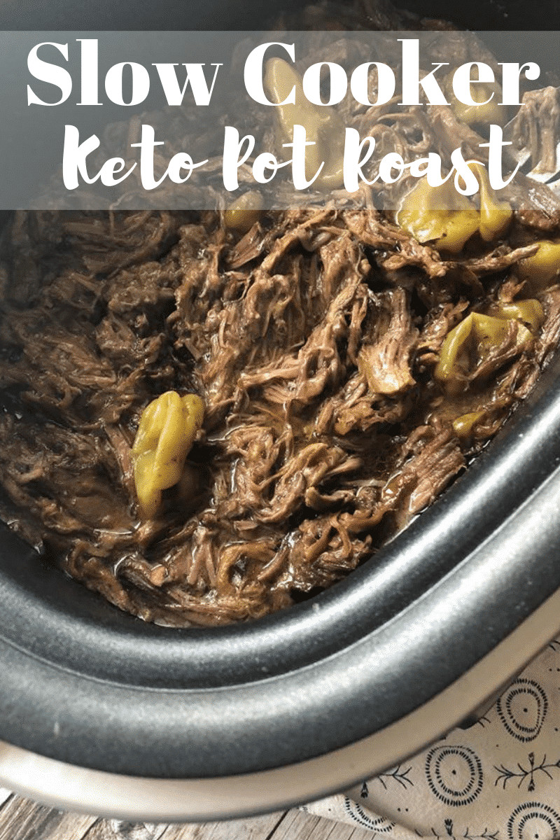 Pork Roast Crock Pot Recipes Slow Cooker Keto  Slow Cooker Low Carb Pot Roast Keto Friendly