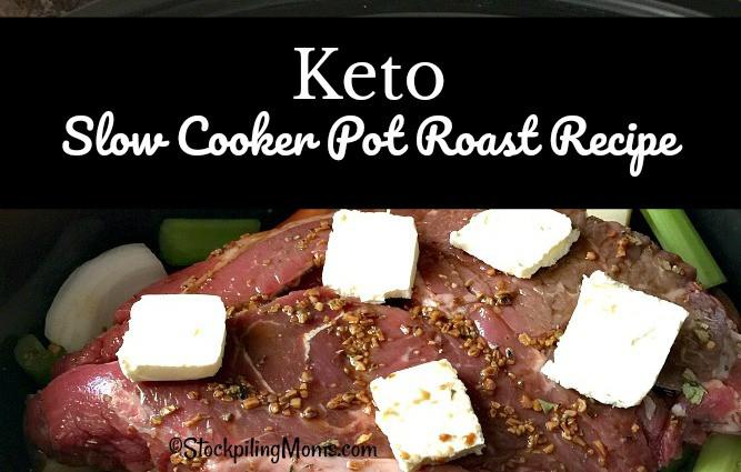 Pork Roast Crock Pot Recipes Slow Cooker Keto  Keto Slow Cooker Pot Roast Recipe