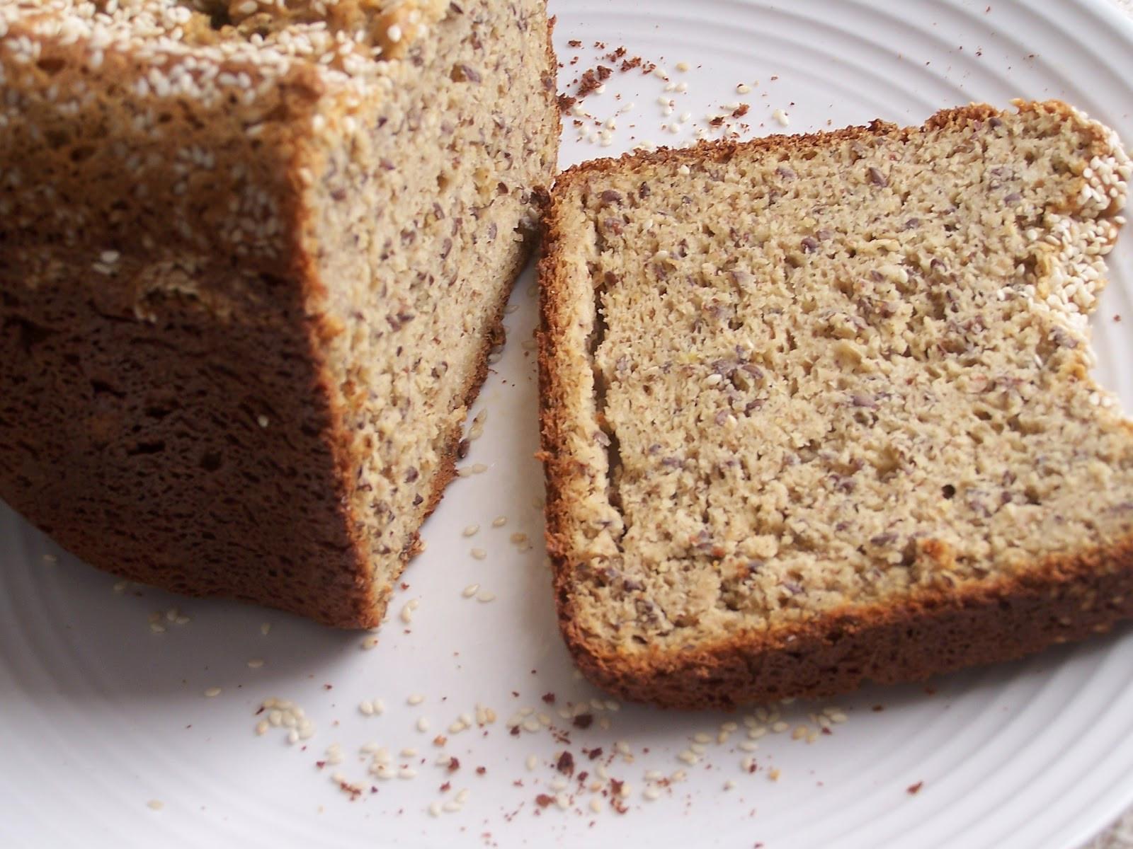 Protein Bread Recipe  Gluten Free High Protein Bread in the Bread Machine