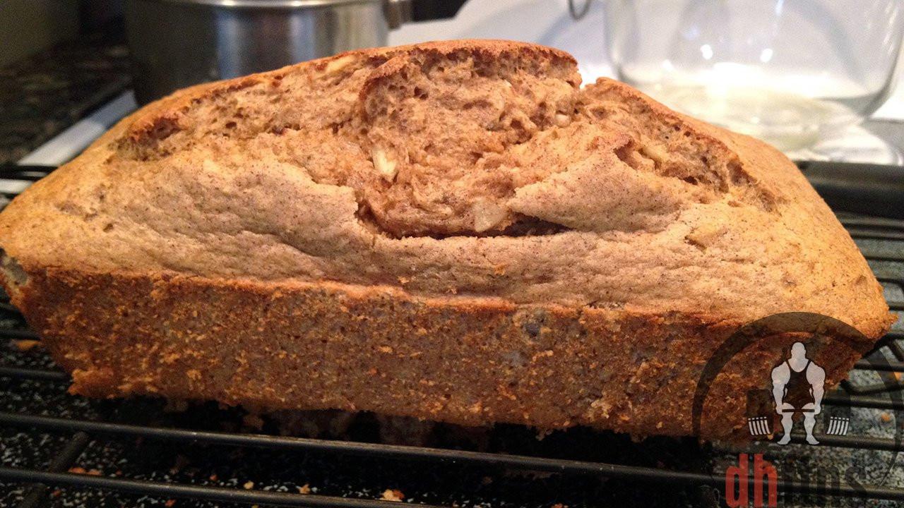 Protein Bread Recipe  PROTEIN Banana Bread Recipe Low calorie Nuts optional