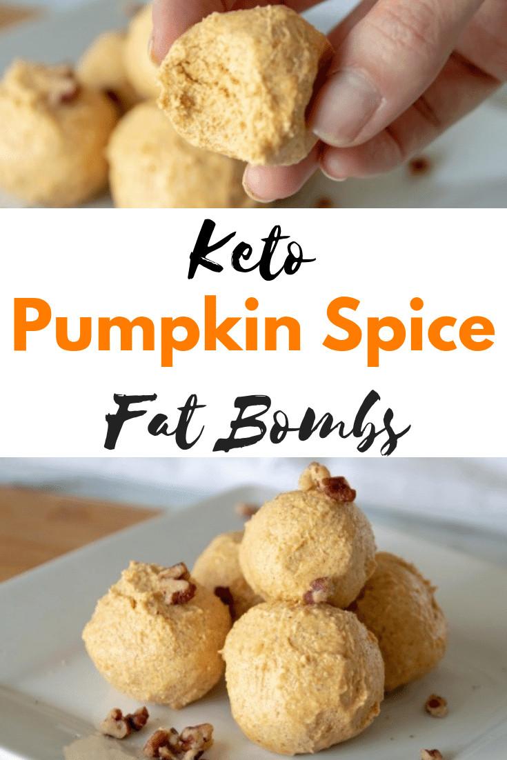 Pumpkin Keto Fat Boms  Keto Pumpkin Spice Fat Bombs Recipe Easy & Low Carb