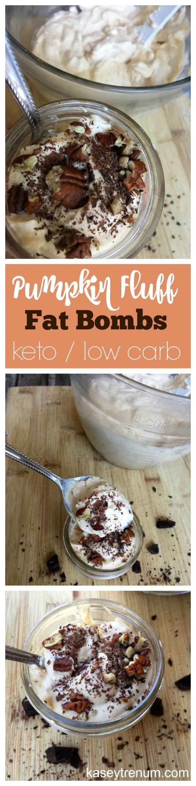 Pumpkin Keto Fat Boms  Keto Pumpkin Fluff Fat Bombs Recipe