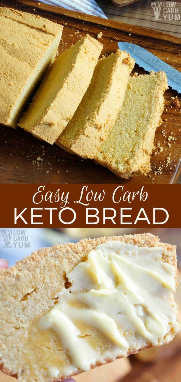 Quick Keto Sandwich Bread  Quick Keto Low Carb Bread Recipe Gluten Free