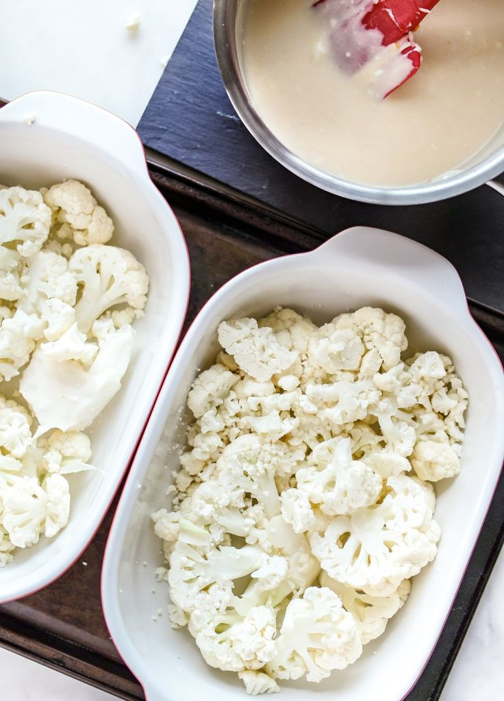 Scalloped Cauliflower Keto  Keto Creamy Scalloped Cauliflower Recipe