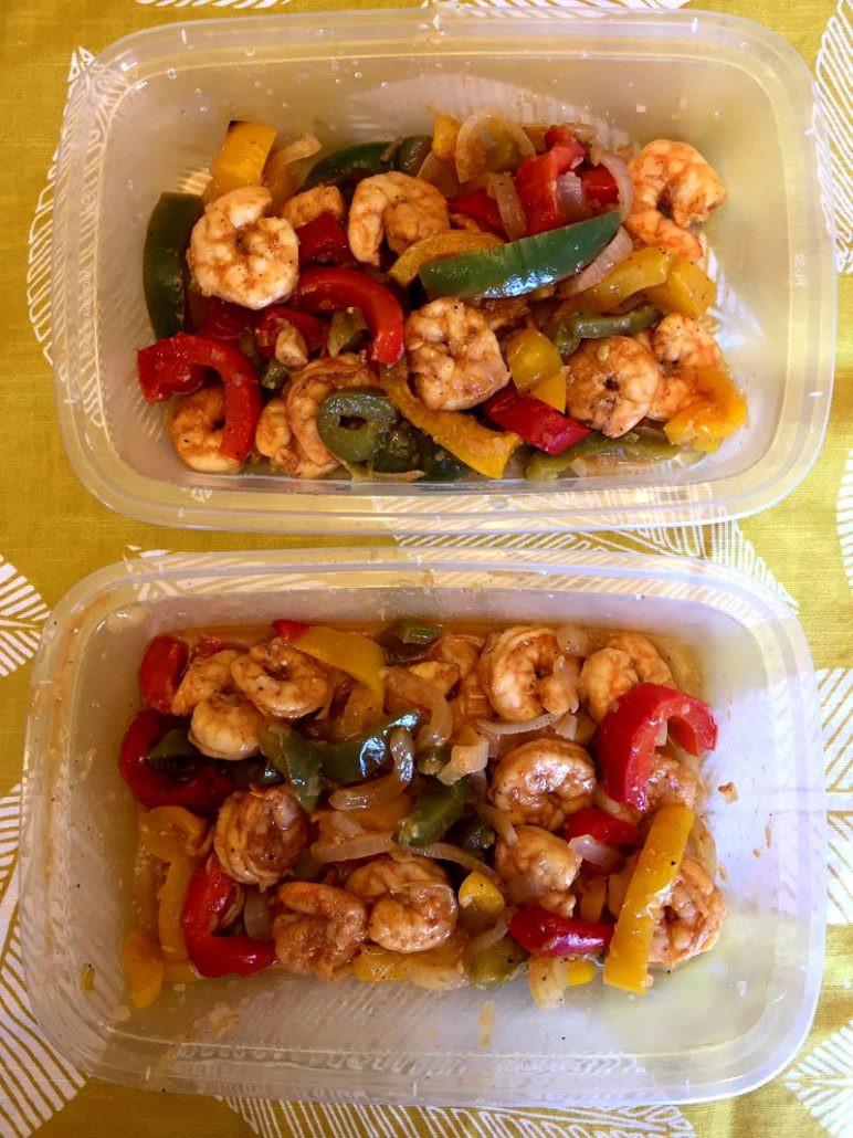 Shrimp Keto Meal Prep  Keto Sheet Pan Shrimp Fajitas – Melanie Cooks