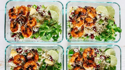 Shrimp Keto Meal Prep  10 Simple Keto Meal Prep Lunches for Work You Need to be