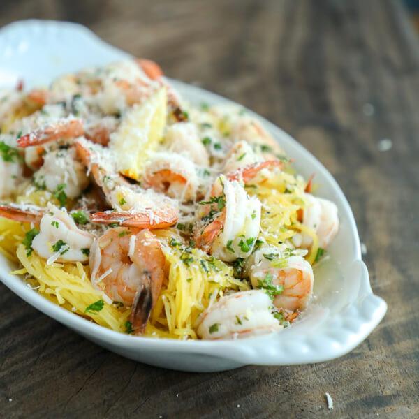 Shrimp Keto Pasta  Easy Keto Shrimp Scampi Low Carb & Paleo