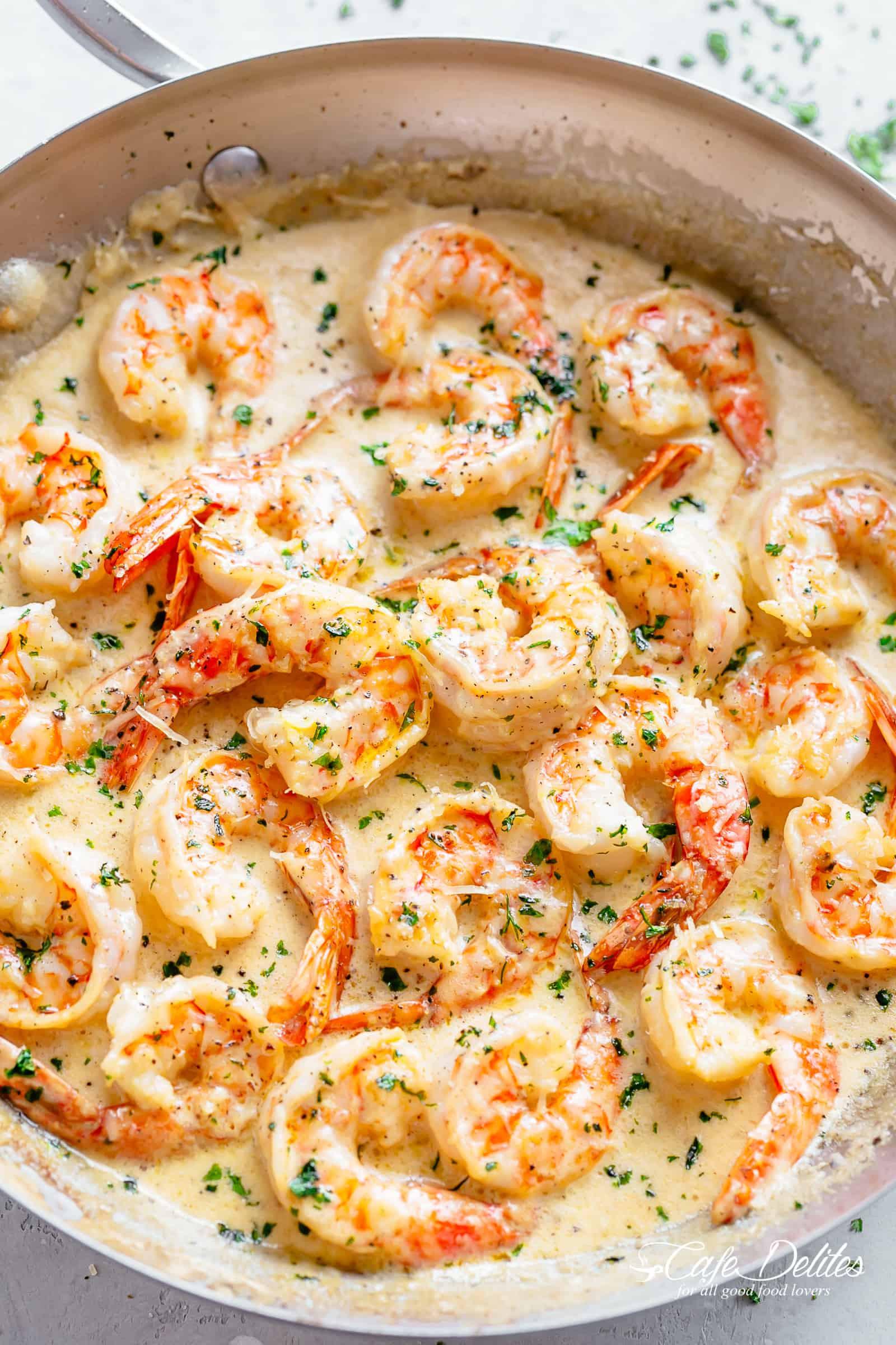 Shrimp Keto Pasta  24 Easy Keto Shrimp Recipes You Can Make In 30 Minutes Less
