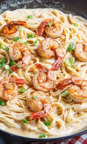 Shrimp Keto Pasta  The Most Delicious Keto Shrimp Recipes Ecstatic Happiness