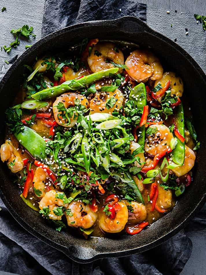 Shrimp Keto Stir Fry  Keto Shrimp Stir Fry