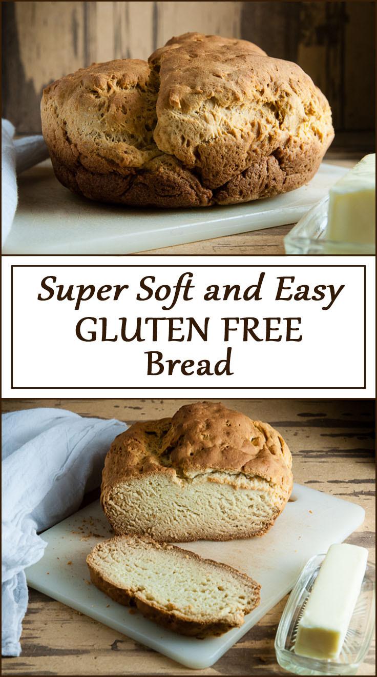 Simple Gluten Free Bread  Super Soft and Easy Gluten Free Bread Seasoned Sprinkles