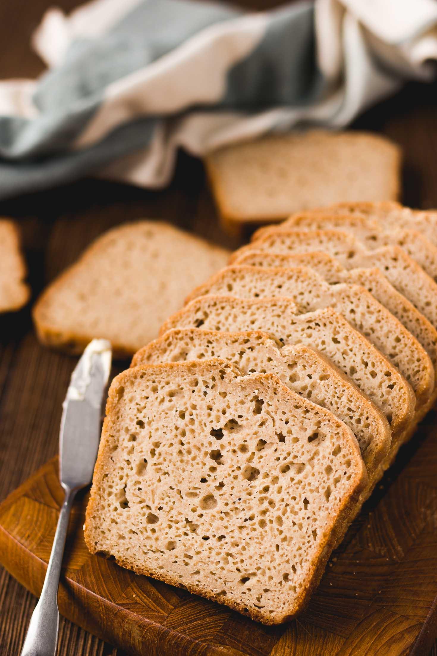 Simple Gluten Free Bread  The Best Homemade Gluten free Bread