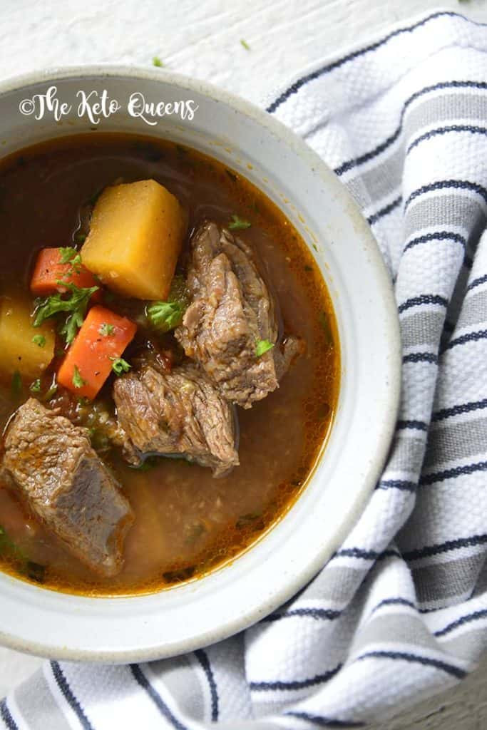 Slow Cooker Keto Beef Stew  11 Easy Delicious Keto Slow Cooker Recipes