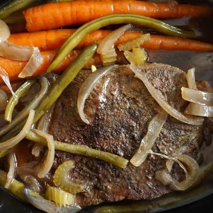 Slow Cooker Keto Beef Stew  Easy Keto Beef Stew Crock Pot Slow Cooker — LOW CARB QUICK