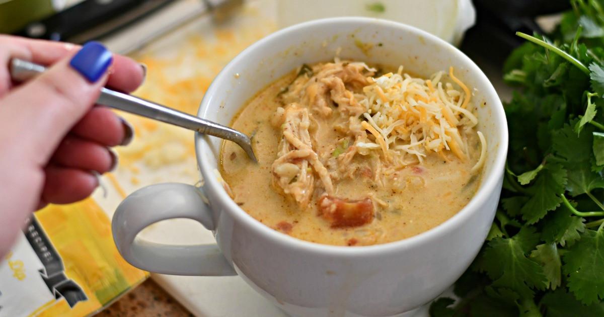 Slow Cooker Keto Chicken Soup  Make This Keto Slow Cooker Chicken Salsa Soup Tonight