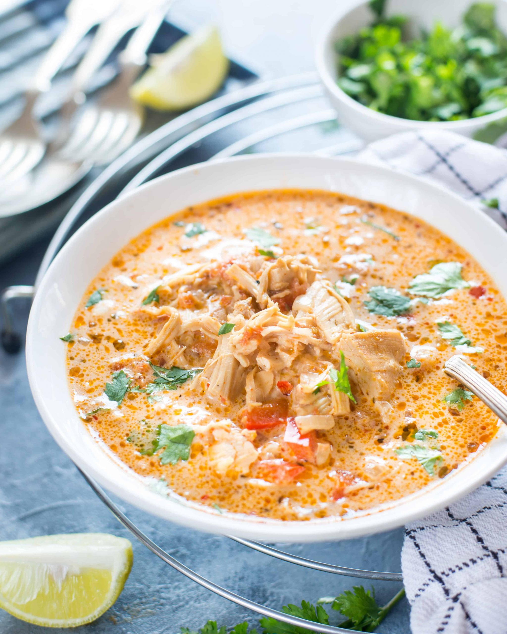 Slow Cooker Keto Chicken Soup  SLOW COOKER MEXICAN CHICKEN SOUP The flavours of kitchen