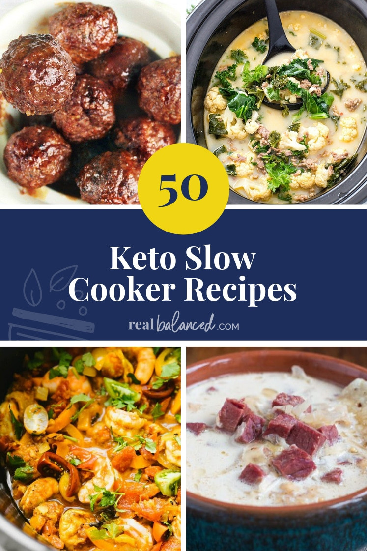 Slow Cooker Keto Desserts  50 Keto Slow Cooker Recipes