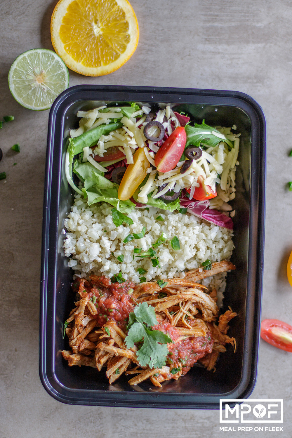 Slow Cooker Keto Meals  Slow Cooker Keto Pork Carnitas Bowls Meal Prep on Fleek™