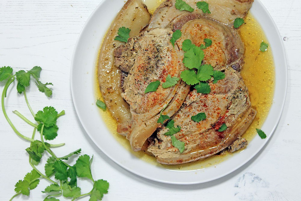 Slow Cooker Keto Pork Chops  Keto Slow Cooker Cajun Spiced Pork Chops
