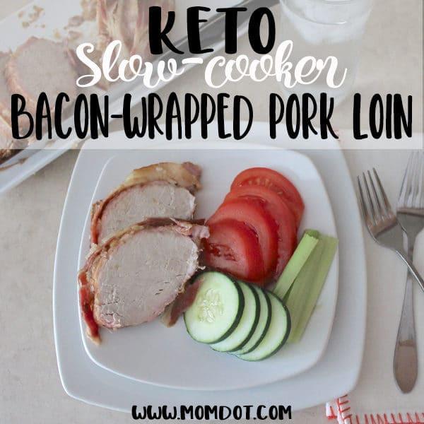 Slow Cooker Keto Pork Loin  Keto Pork Tenderloin A Slow Cooker Recipe