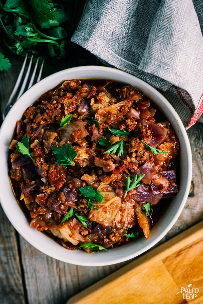 Slow Cooker Keto Recipes  Keto Slow Cooker Cabbage Casserole