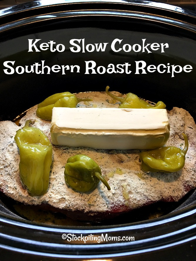 Slow Cooker Keto Recipes Low Carb  Keto Slow Cooker Southern Roast Recipe