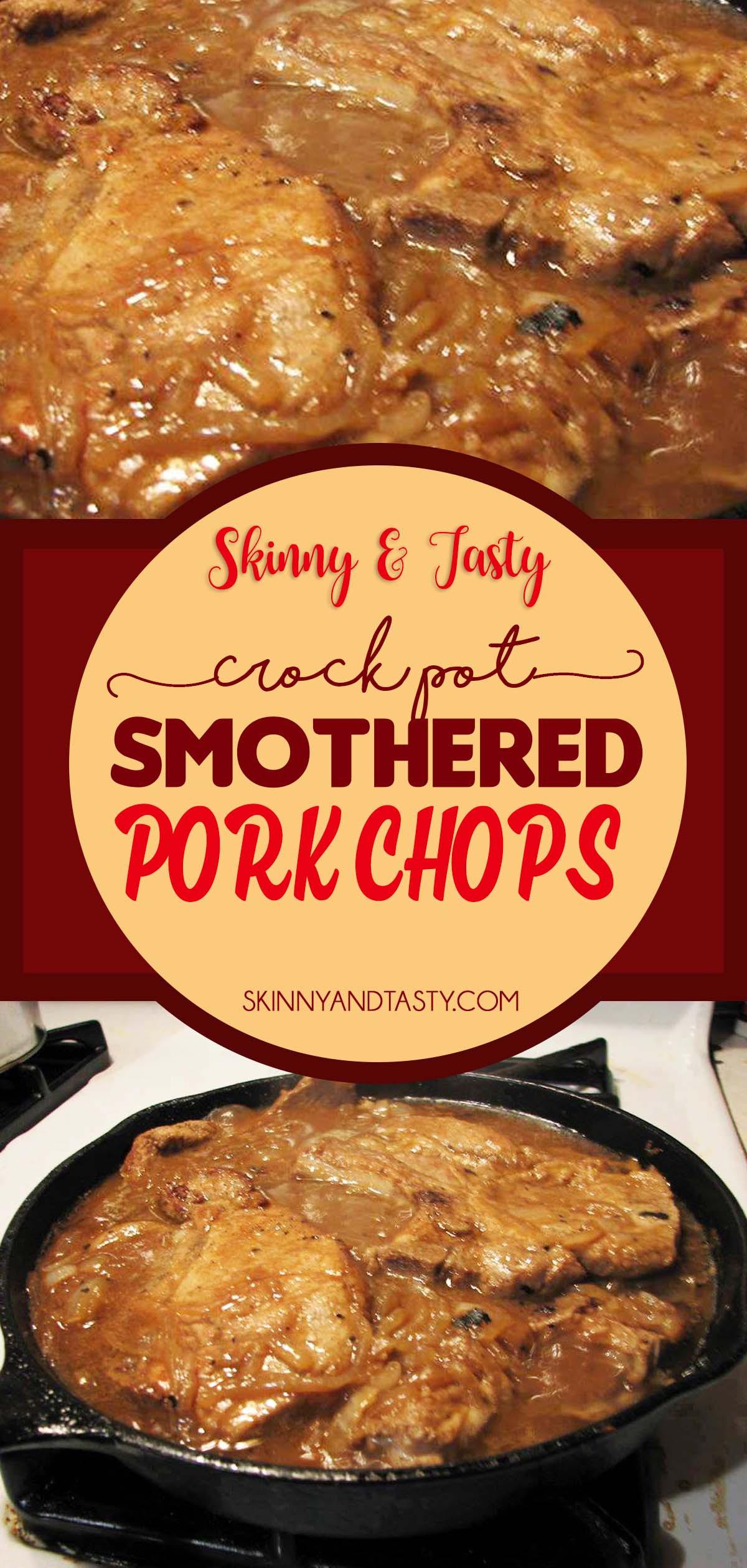 Smothered Pork Chops Crock Pot Keto  Crock Pot Smothered Pork Chops
