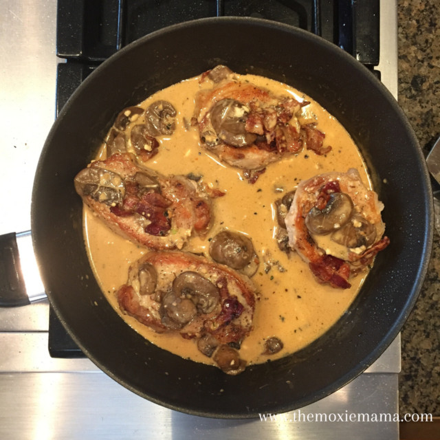 Smothered Pork Chops Crock Pot Keto  Simple e Pan Smothered Keto Pork Chops