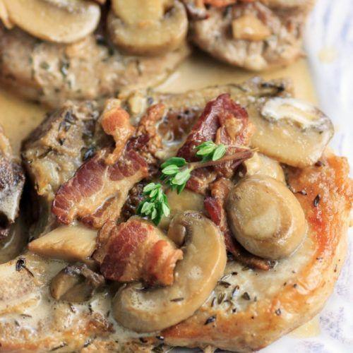 Smothered Pork Chops Crock Pot Keto  Instant Pot Keto Smothered Pork Chops Low carb paleo