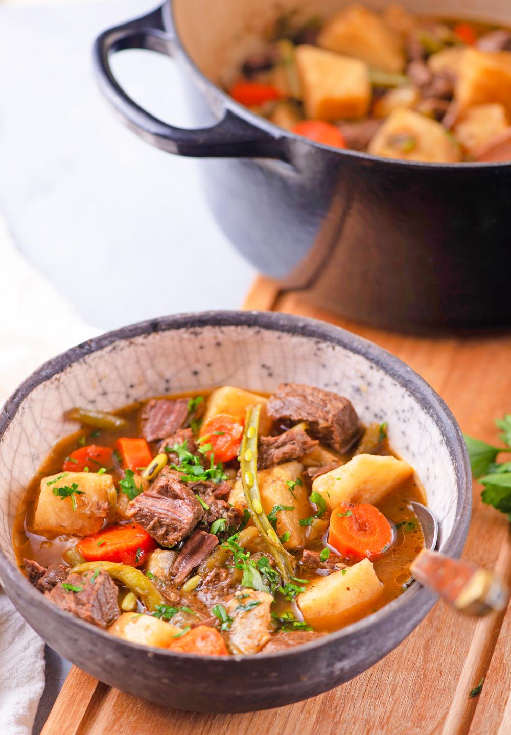 Stew Meat Recipes Crock Pot Keto  Keto Beef Stew